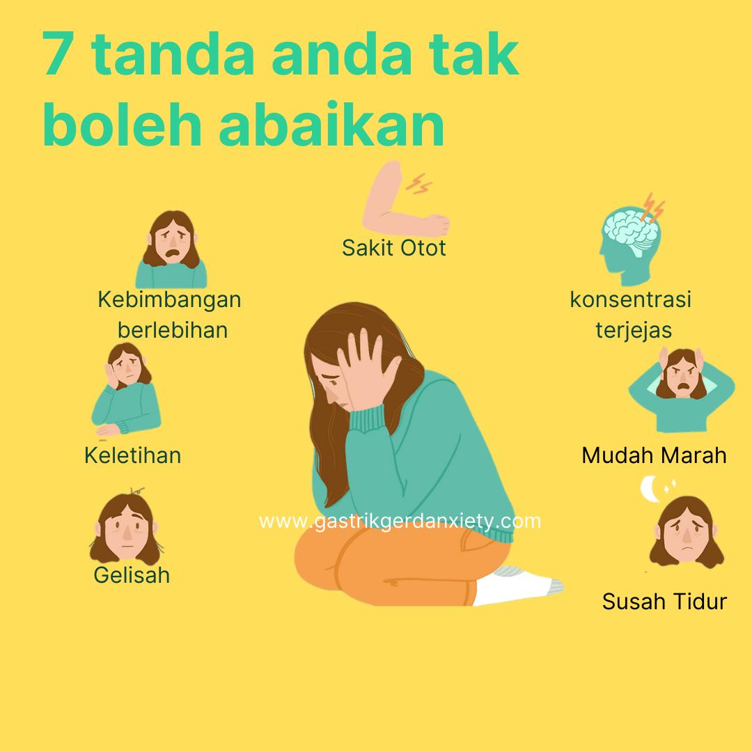 Tanda Anxiety